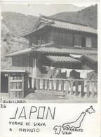 PHOTO SIGNEE  ROBILLARD N°26 ORIGINALE ANCIENNE DE 15CM/11CM : UNE FERME DE SIKOK A NARUTO  JAPON - Lieux