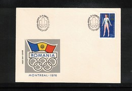 Romania 1976 Olympic Games Montreal FDC - Sommer 1976: Montreal