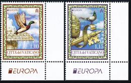 """VATICAN/Vatikanstaat, EUROPA 2019 """"National Birds"""" Set Of 2v** - 2019"""