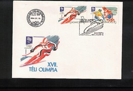 Hungary 1994 Olympic Games Lillehammer FDC - Winter 1994: Lillehammer