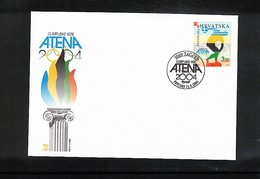 Croatia / Kroatien 2004 Olympic Games Athens FDC - Sommer 2004: Athen