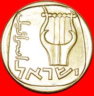 + LYRE (5720-5739): PALESTINE (israel) ★ 25 AGOROT 5738 (1978) MINT LUSTER! LOW START ★ NO RESERVE! - Israël