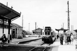 Brioude. Autorail Renault VH-X 2101. Cliché Jacques Bazin. 03-09-1956 - Trains