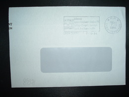 LETTRE PORT PAYE OBL.MEC.7-10 1994 PP 69 LYON TERREAUX La Coupe D'Europe D'Echecs à Lyon - Marcophilie (Lettres)
