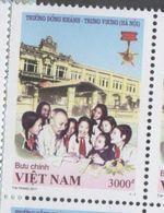 VIETNAM , 2017, MNH,EDUCATION, DONG KHANH TRUNG VUONG HA NOI SCHOOL,  1v - Stamps