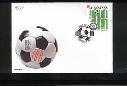 Kroatien / Croatia 2004 100 Years FIFA FDC - Fussball