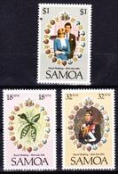 Princess Diana/ Lady Di - Royal Weding,29 Th July, Samoa 1981 / MNH - Samoa (Staat)