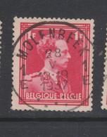 COB 428 Oblitération Centrale MOLENBEEK 1E - 1936-1957 Open Collar