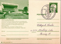 Germany Used Postal Stationery Card Posted By Coach On 9.9.90. - [7] Federal Republic