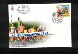 Bosnia And Herzegowina Banja Luka 2006 Vidovdan Road Race FDC - Leichtathletik
