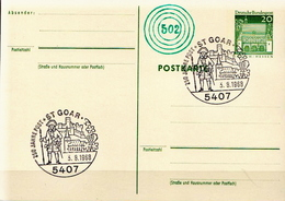 Germany Postal Stationery Card With Special Cancel - Post