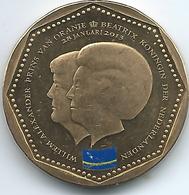 Netherlands Antilles - Beatrix / Willem Alexander - 2013 - 5 Gulden - Curaçao Flag - KM85 - Antille Olandesi