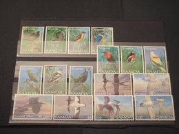 SAMOA - 1988 UCCELLI 10+4+2  VALORI - NUOVI(++) - Samoa