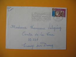 Lettre De La Réunion CFA  1974  N° 421  Arphila 75  De Sainte Clotilde Pour La France - Reunion Island (1852-1975)
