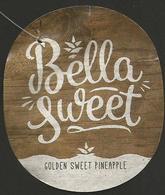 # PINEAPPLE BELLA SWEET Fruit Tag Balise Etiqueta Anhanger Ananas Pina Costa Rica - Fruit En Groenten