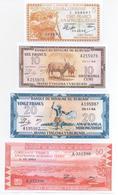 Burundi 6 Note Set 1964 COPY - Burundi
