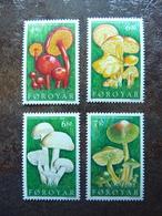 1997  Mushrooms  Mi = 311 / 314    ** MNH - Féroé (Iles)