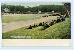 W6L29/ The Oval Worcester, Mass. USA AK Football Stadion  Ca.1912 - Etats-Unis