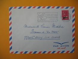 Lettre De La Réunion CFA  1974  N° 393  Marianne De Béquet De Saint Denis Pour La France EM Finale National - Reunion Island (1852-1975)