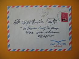 Lettre De La Réunion CFA  1974  N° 393  Marianne De Béquet Du Mont Vert Pour La France - Reunion Island (1852-1975)