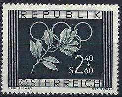 AUSTRIA 1952 Winter Olympics 2s40g + 60g Mint - 1945-.... 2nd Republic