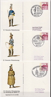 Germany 3 Used Postal Stationery Cards, Ingolstadt 1984 - Philately & Coins