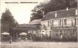 Carte Postale Ancienne De  MONTFORT  L'AMAURY // Hôtel De L'arrivée - Montfort L'Amaury
