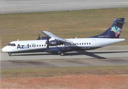 AZUL Linhas Aéreas Brasilleiras LAB ATR-72-600  PP-AQC LIEAS At San Paolo - 1946-....: Era Moderna