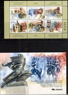 SERBIA, 2018, MNH, WWI,  LIBERATION OF SERBIA BY FRANCO-SERBIAN ARMY, HORSES, SHEETLET IN BOOKLET - WW1