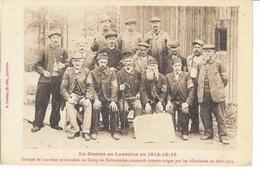 OTAGES- Lorrains Prisonniers  Camp De HOLZMINDEN Emmenés Comme Otages Par Les Allemands- Cp PHOTOCOPIE Format A4 - 1914-18