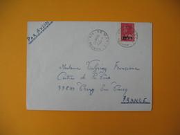Lettre De La Réunion CFA  1974  N° 393  Marianne De Béquet De Sainte Marie Pour La France - Reunion Island (1852-1975)