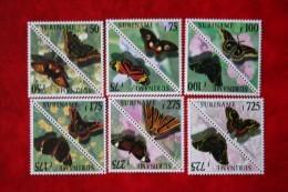Surinam / Suriname 1998 Vlinders Butterflies Papillons (ZBL 967-978 Mi -  Sc -) POSTFRIS / MNH ** - Suriname