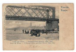 Temse  Temsche Tamise 1901  Dichtgevroren Schelde 1890-1891 - Temse