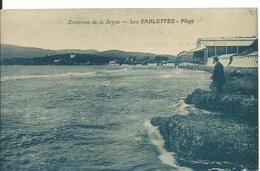 ***   LA SEYNE SUR MER ( ENVIRONS)  ... (VAR  ) ...LES SABLETTES  _ PLAGE - La Seyne-sur-Mer