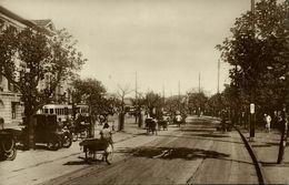China, SHANGHAI, The Bund, Car, Rickshaw, Tram (1920s) Lai Chong RPPC Postcard - China