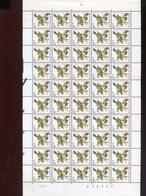 Belgie Andre Buzin Birds 2424 Full Sheet MNH Plaatnummer 1 6/9/1991 - 1985-.. Birds (Buzin)