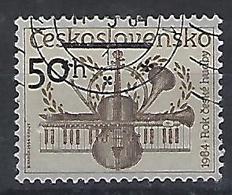 Czechoslovakia 1984  Music Year (o) Mi.2767 - Czechoslovakia