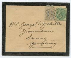 1903 Australien New South Wales → Brief Drummoyne Nach Grossenhain - 1850-1906 New South Wales