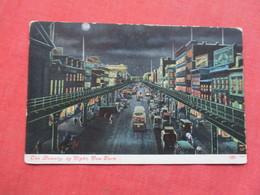 Bowery View By Night   - New York > New York City >     Ref 3421 - Manhattan