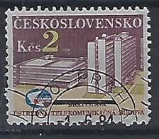 Czechoslovakia 1984  Telecom Building Bratislavia (o) Mi.2769 - Czechoslovakia