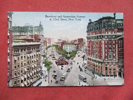 Broadway & Amsterdam At 72 Nd Street  - New York > New York City >     Ref 3421 - Manhattan