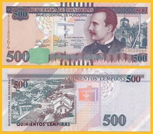 Honduras 500 Lempiras P-103 2014 UNC Banknote - Honduras