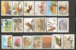 19 Timbres De ( Chine ) - Chine