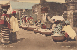 Freetown - Rice Market - Sierra Leone