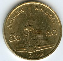 Thaïlande Thailand 50 Satang 1/2 Baht 2543 ( 2000 ) KM 203 - Thaïlande