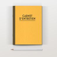 Carnet D'entretien Jaune Pour Voiture Auto Collection - Voitures