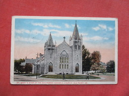 St Mary's Star Of The Sea Catholic Church  Old Point Virginia>    Ref 3421 - Other
