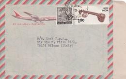 AEROGRAMME - INDIA BOMBAY - T.J.- CHOKSICHEMICAL CORPORATION - VIAGGIATO PER  MILANO  LARK S.P.A / ITALIA - India
