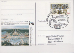 Germany Used Postal Stationery Card With Special Cancel - Stamps