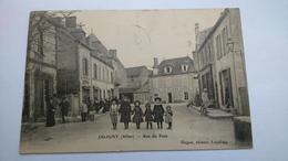 Carte Postale ( U3 ) Ancienne De Jaligny , Rue Du Pont - Autres Communes